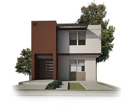 fachada-a-modelo-milan-II-fraccionamiento-ankara-en-saltillo-coahuila